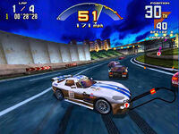 Sega Super GT arcade screenshot