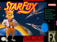Star Fox SNES cover