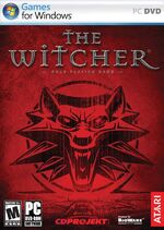 The witcher boxart super