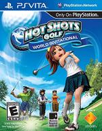 Hot Shots Golf World Invitational PSVita cover