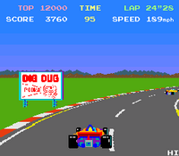 Pole Position arcade screenshot