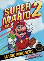 Super Mario Bros 2 NES cover