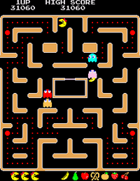 Ms Pac Man arcade screenshot