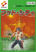 Mad City Famicom cover