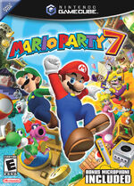 Mario Party 7 GC cover