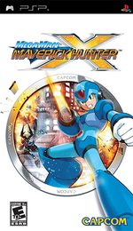 Mega Man Maverick Hunter X Coverart