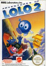 Adventure of Lolo 2 NES cover