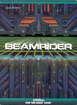 Atari 2600 Beamrider box art