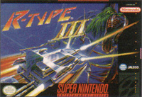 R-Type 3 SNES cover