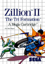 Zillion II The Tri Formation SMS box art
