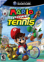 Mario Power Tennis GC cover