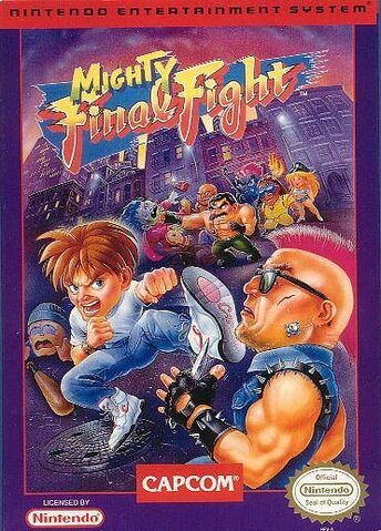 File:Mighty Final Fight NES cover.jpg