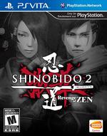 Shinobido 2 Revenge of Zen PSVita cover
