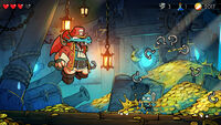 Wonder Boy The Dragons Trap screenshot