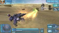Gundam Seed Battle Destiny PSVita screenshot