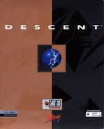 Descent DOS cover