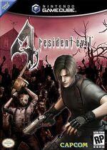 Resident Evil 4 GC cover