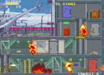 Elevator Action Returns Saturn screenshot