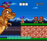 Congos Caper SNES screenshot