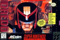 Judge Dredd SNES cover