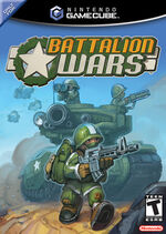 Battalion Wars GC cover
