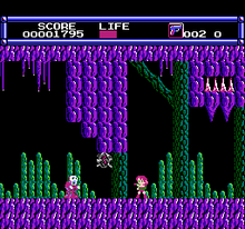 Layla Famicom screenshot