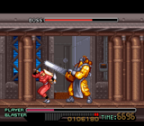 The Ninja Warriors SNES screenshot