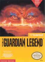 Guardian Legend NES cover