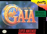 Illusion of Gaia SNES cover