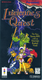 Luciennes Quest 3DO cover