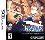 Phoenix Wright - Ace Attorney Coverart