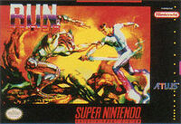 Run Saber SNES cover