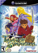 Tales Of Symphonia GC cover
