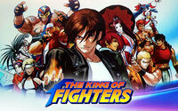 The King of Fighters XV cover