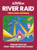 Atari 2600 River Raid box art