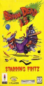 Brain Dead 13 3DO cover