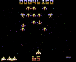 Galencia C64 screenshot