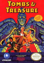 Tombs and Treasure NES cover