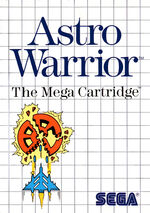 Astro Warrior SMS box art
