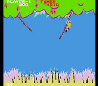Jungle Hunt arcade screenshot