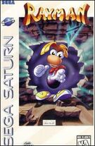 Rayman Sega Saturn Boxart