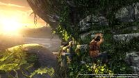 Uncharted Golden Abyss PSVita screenshot