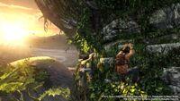 Uncharted Golden Abyss PSVita screenshot
