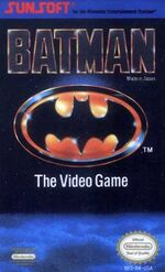 Batman NES cover