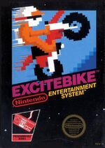 Excitebike NES cover
