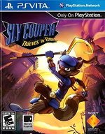 Sly Cooper Thieves in Time PSVita cover