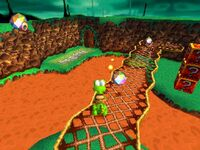 Croc 1 screenshot sega saturn