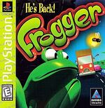 Frogger PS1 Cover