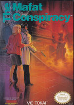 Golgo 13 The Mafat Conspiracy NES cover