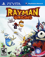 Rayman Origins PSVita cover